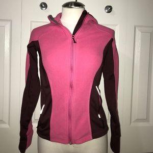 columbia s omni shield hooded fleece jacket